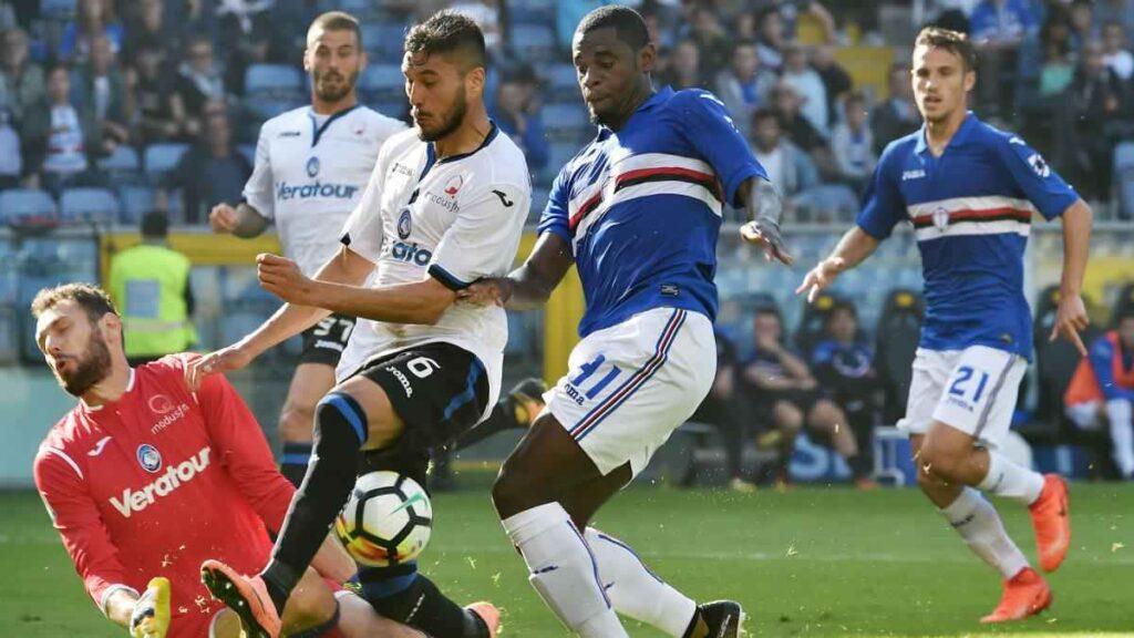Image result for atalanta sampdoria