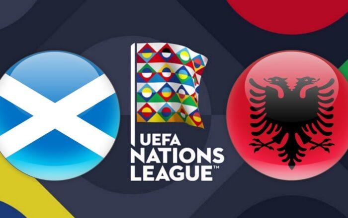 UEFA Nations League Scotland vs Albania